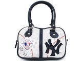 MLB New York Yankees Bowler Bag Purse