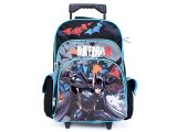 "The Dark Knight Batman Roller School Backpack/Bag :16"" Large"