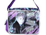 Justin Bieber School Messenger Bag: I love Justin