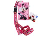 Disney Minnie Mouse Lanyard with Coin Wallet -Pink