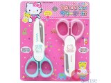 Sanrio Hello Kitty Art Scissors Set with Zig Zag Scissor