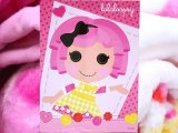 Lalaloopsy Plush Mink  Blanket  Raschel Throw : Twin Size