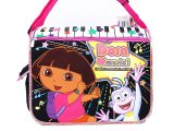 Dora The Explorer Dora & Boots Messenger Bag / Diaper :Love Music