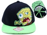 Nick Jr. Spongebob Zombie Flat Bill l Cap, Hat :Teen/Adult