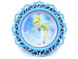 Disney Tinkerbell Faires Wall Clock -Flora Magic Touch