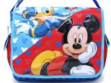 Disney Mickey Mouse and Donald School Messenger Bag