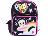 Paul Frank School Backpack  Large Bag : Rainobow Star