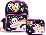 Paul Frank Large School Backpack and Lunch Bag Set