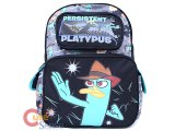 Phineas and Ferb Agent P chool Backpack -16in Large Bag Persistent Platypus