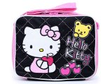 Sanrio Hello Kitty School  Lunch Bag / Snack Box :Love Apple Teddy Bear