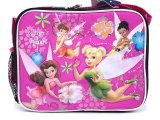 Disney TinkerBell Fairies  School Lunch Bag/Box : Pink