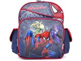 "Marvel Spider Sense Spider Man School Backpack :12"" w/ Monsters"