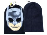DC Comics Batman  Beanie Ski Mask Eyeholes Beanie Hat : One Size