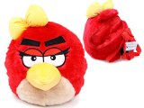 Rovio Angry Birds Red Bird with Bow Plush Doll Backpack -(Kids to Adults)