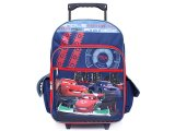 Disney Pixar Cars Mcqueen School Large  Roller Backpack - Angel of Attack