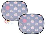 Paul Frank Julius Rare Window Sun Shade Auto Accessories : Face All Over