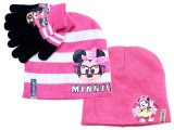 Disney Minnie Mouse  Gloves, Beanie Set - Nerd Glasses