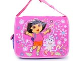 Dora The Explorer Dora & Boots Messenger Bag / Diaper Bag-Pink