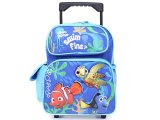 Finding Nemo School Roller Backpack Rollling Bag -12in