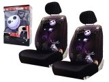 Nightmare Before Christmas Low Back 2 Front Car Seat Cover