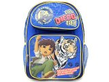 Go Diego Go with Tiger School Backpack -14in Medium
