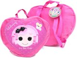 Lalaloopsy Plush Backpack in  Pink Heart Shape