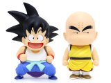 Dragon Ball DX Gokou with Shell and Klilyn PVC Figure Set