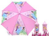 Disney Princess Pink Kids Umbrella- Cinderella ,  Tangled with Tiana