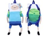 Adventure Time Finn & Jake Finn  Plush Doll Backpack Costumes Bag