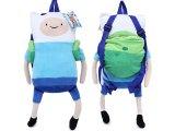 Adventure Time Finn & Jake Finn  Plush Doll Backpack Costumes Bag