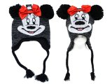 Disney Minnie Mouse Lapland Hat : Beanie with Ear Flap (Teen-Adult)