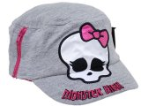 Monster High Skull Logo  Military Cap Kids Hat
