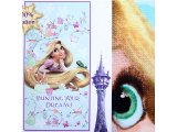 Disney Princess Tangled Rapunzel  Cotton Beach, Bath Towel