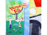 Phineas and Ferb Cotton Beach, Bath Towel