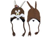 Looney Toon Coyote  Lapland Hat : Beanie with Ear Flap (Teen-Adult)