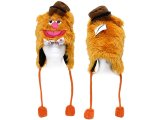 The Muppets Fozzie Bear Laplander Hat : Beanie with Ear Flap (Teen-Adult)