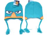 Phineas and Ferb  Big Face Knitted Intarsia Peruvian Beanie
