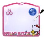 Sanrio Hello Kitty Metal Memo Board w/ Maker& Pins - Kitty Bear