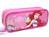Disney Little Mermaid Ariel  Pencil Case Zipppered  Bag :Pink