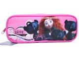 Disney Brave Pencil Case Zipppered  Bag :Pink