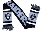 NFL Oakland Raiders  Kinnited Logo Scarf