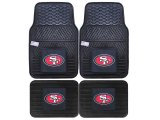 Fanmats San Francisco 49ers Car Floor Mats 4pc Set