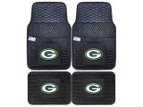 Fanmats Green Bay Packers Car Floor Mats 4pc Set