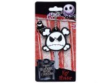 Nightmare Before Christmas  Jack Face Crossbones Key Cap