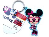 Disney Minnie Mouse Nerd PVC Key Chian