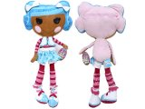 Lalaloopsy Mittens Fluff  Pillowtime Pals Cuddle Pillow XL Plush Doll