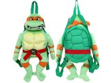 Teenage Mutant Ninja Turtles Turtle  Plush Doll Backpack Michaelangelo  Costumes Bag