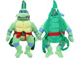 Teenage Mutant Ninja Turtles Turtle  Plush Doll Backpack Leonardo Costumes Bag