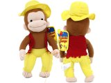 "Curious George Cowboy 15"" Large  Plush Doll"