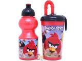 Rovio Angry Birds Drinking Bottle Tumbler Set -2pc Set